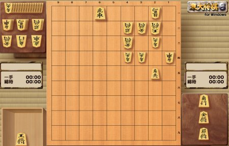 矢倉戦を想定した局面図