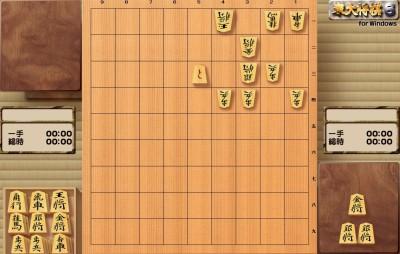 捨て駒で後手玉の矢倉城への逃げ込みを防ぎます
